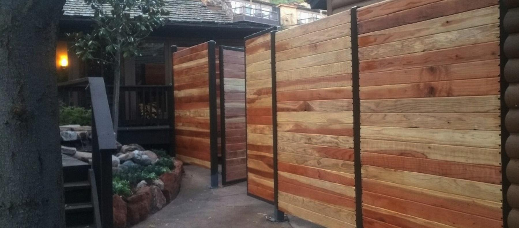 2 LAuberge Hotel Industrial Fencing by Empire Fence Phoenix AZ