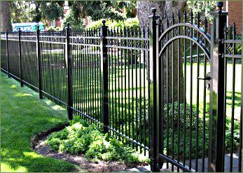 3Ornamental Iron Fence Pic for Empire Fencing AZ