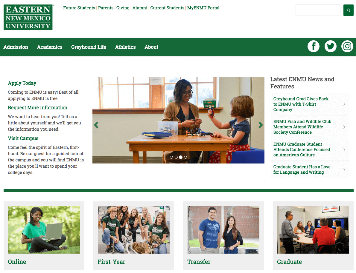 New Mexico University continues partnership with WSI for SEO and content marketing