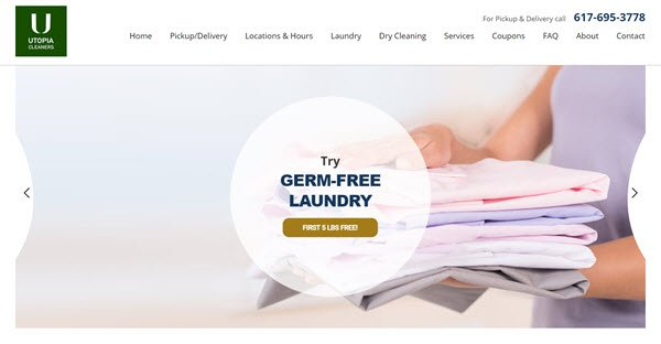 Dry Cleaner Renews Digital Marketing Services with WSI